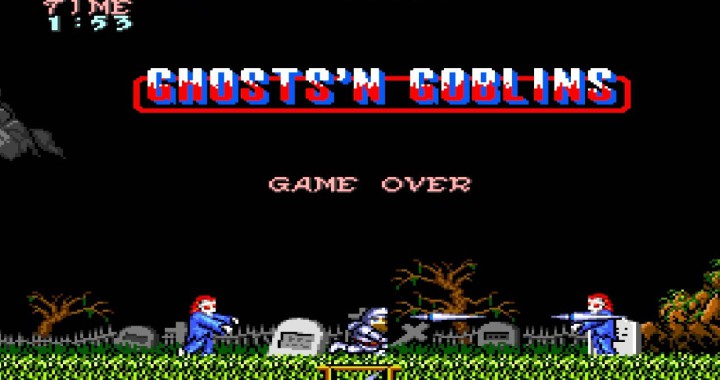 Ghost and Goblins game